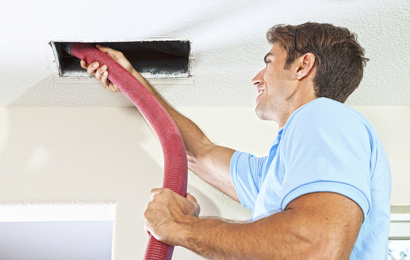 Cleaning ducts in your home routinely.