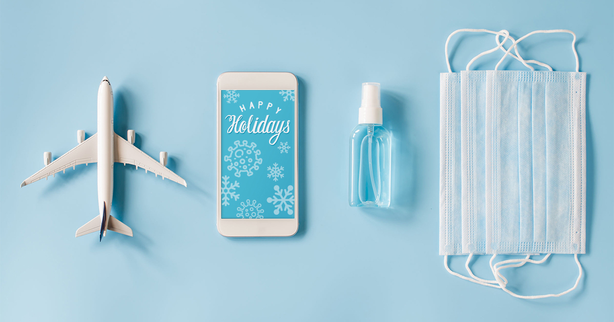 Hand sanitizer, phone, mask are your travel essentials for 2020.